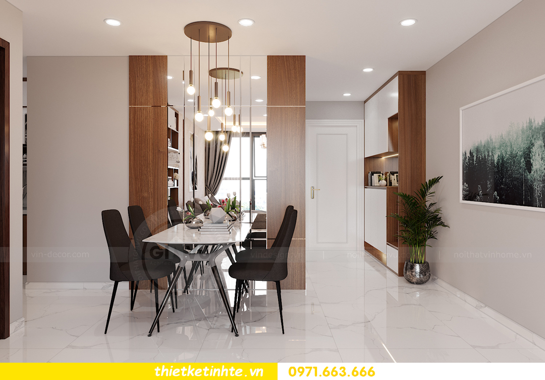 thiết kế nội thất tòa S301 chung cư Vinhomes Smart City 2