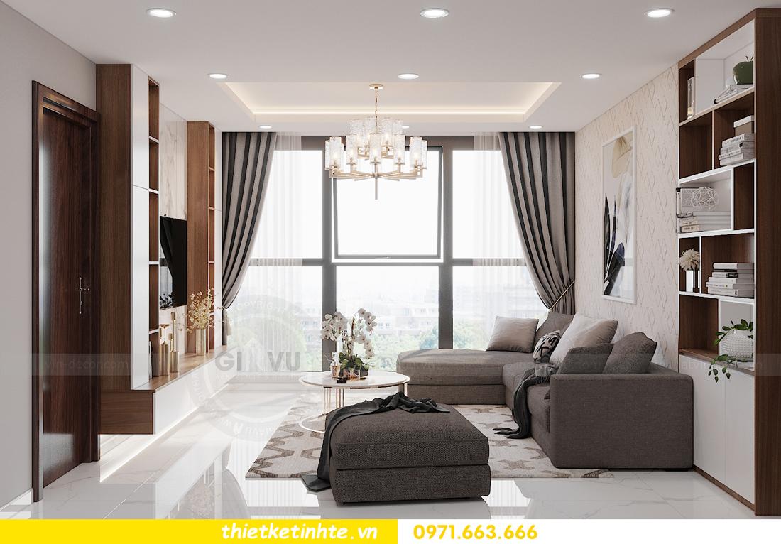 thiết kế nội thất tòa S301 chung cư Vinhomes Smart City 3
