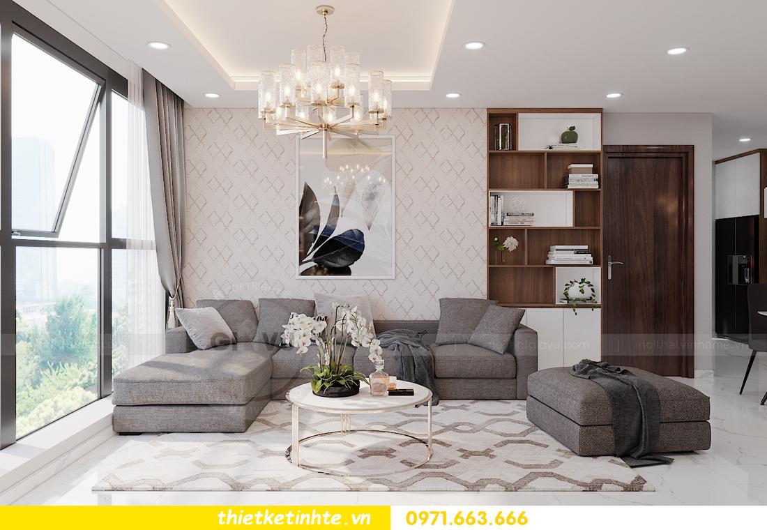 thiết kế nội thất tòa S301 chung cư Vinhomes Smart City 4