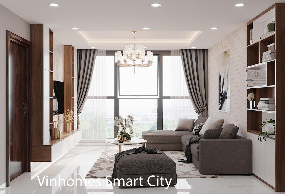 Thiết kế nội thất tòa S301 chung cư Vinhomes Smart City