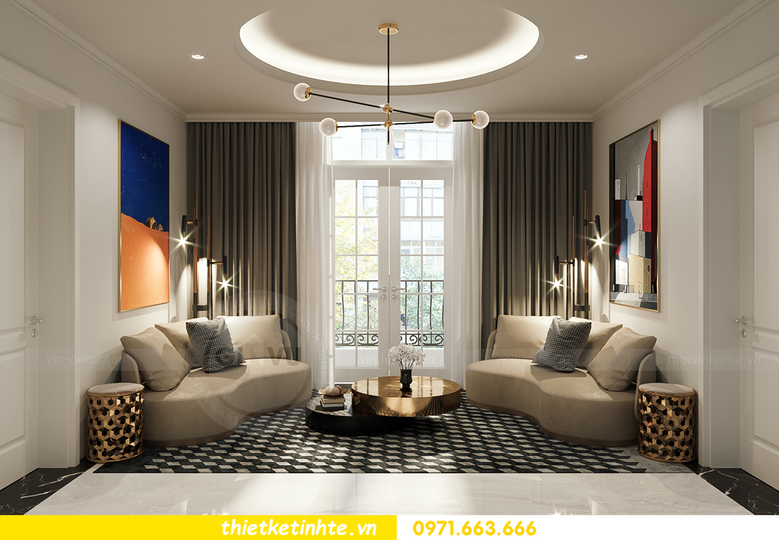 mẫu thiết kế nội thất biệt thự OCean Park San Hô 0203 12