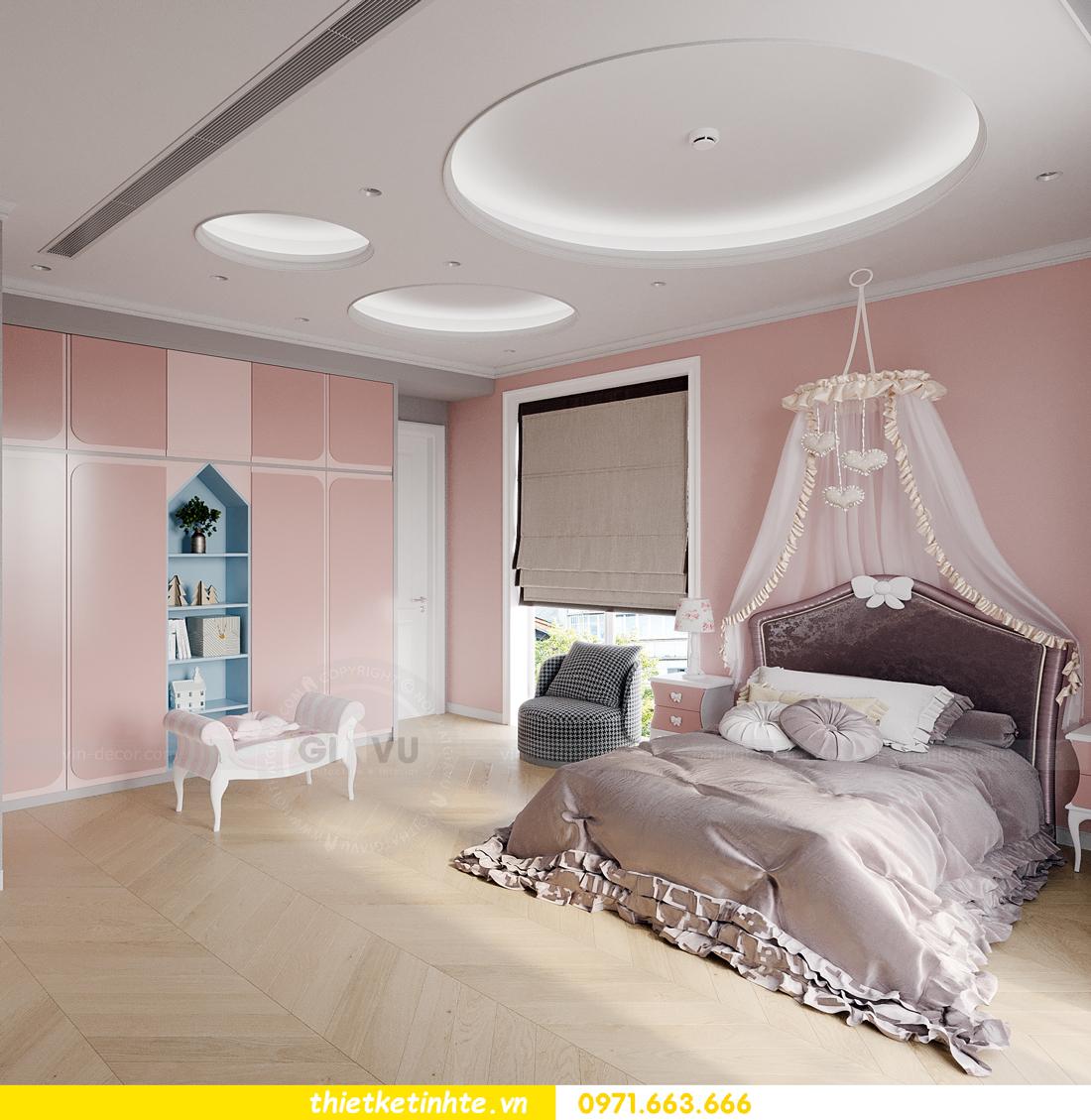 mẫu thiết kế nội thất biệt thự OCean Park San Hô 0203 14