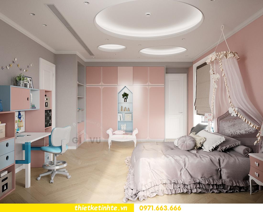 mẫu thiết kế nội thất biệt thự OCean Park San Hô 0203 15