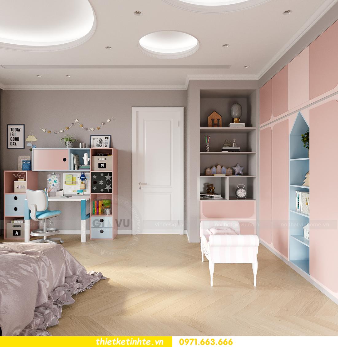 mẫu thiết kế nội thất biệt thự OCean Park San Hô 0203 16