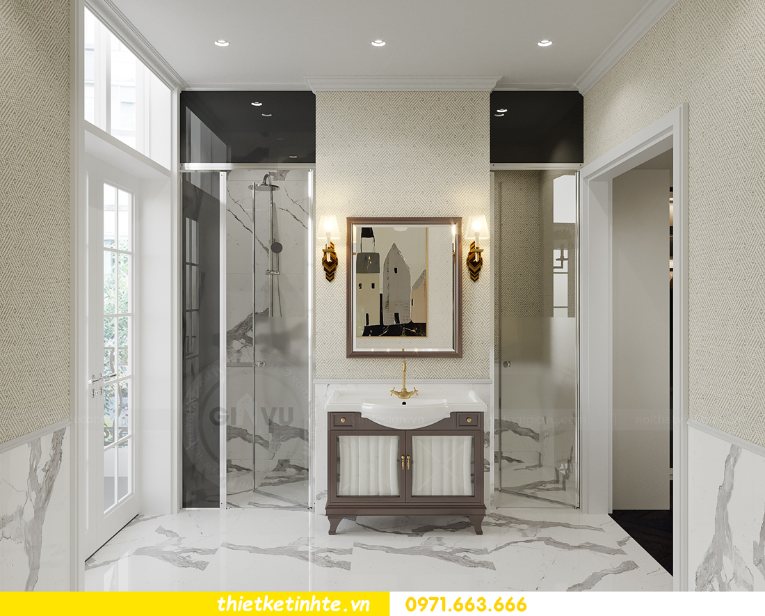 mẫu thiết kế nội thất biệt thự OCean Park San Hô 0203 18