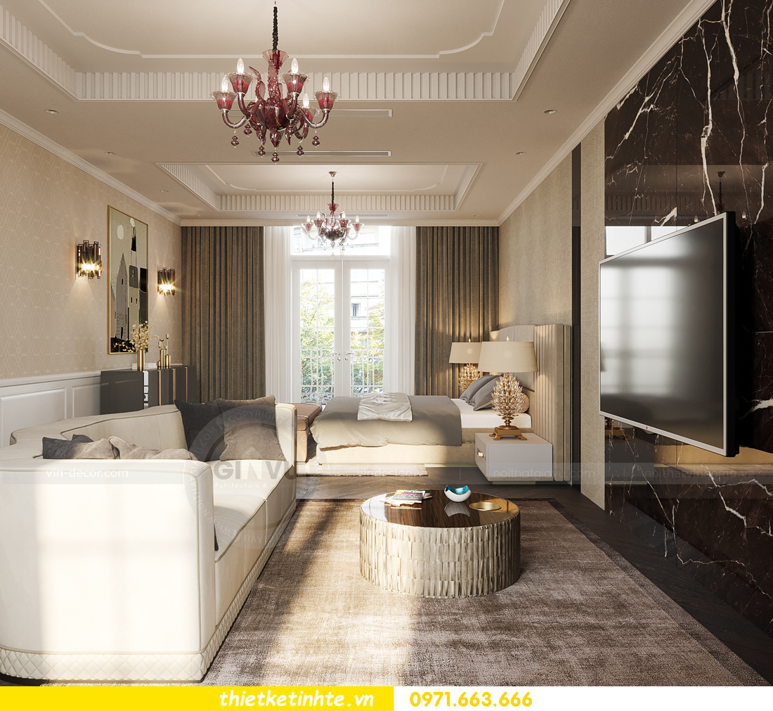 mẫu thiết kế nội thất biệt thự OCean Park San Hô 0203 19