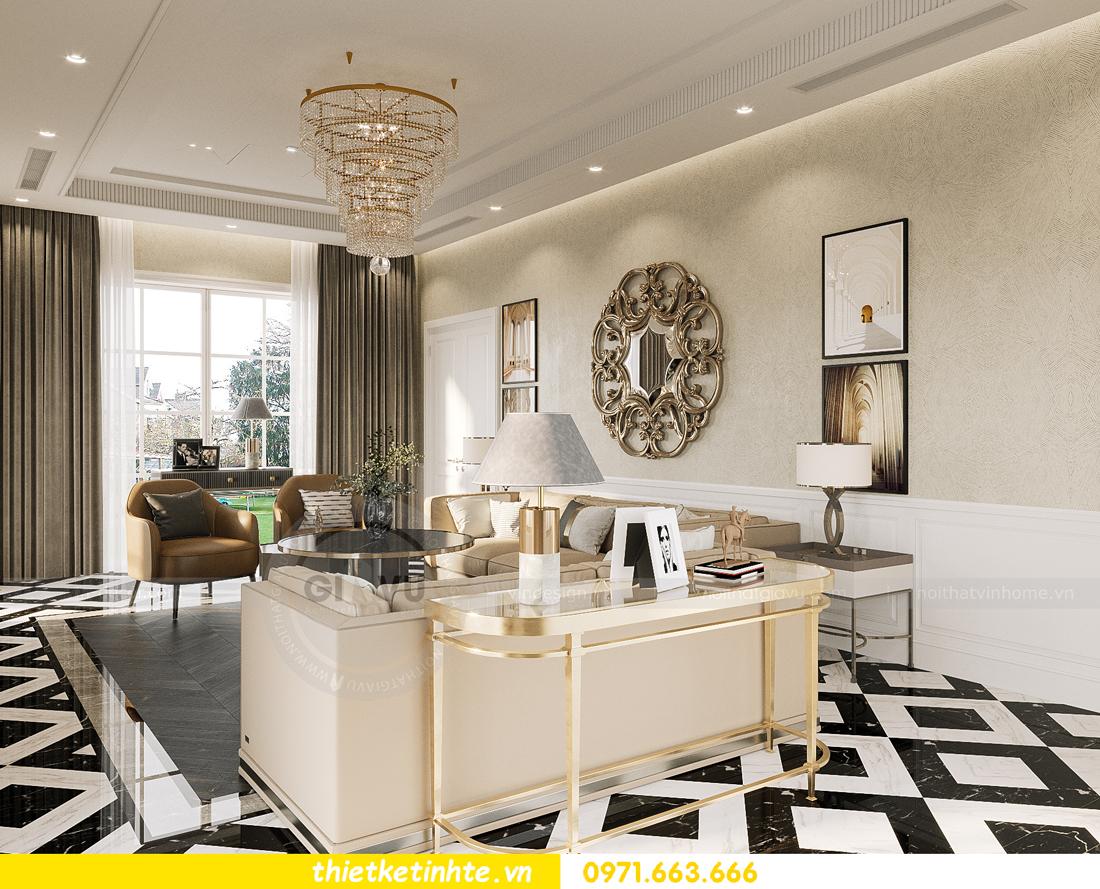 mẫu thiết kế nội thất biệt thự OCean Park San Hô 0203 3