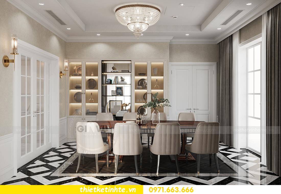 mẫu thiết kế nội thất biệt thự OCean Park San Hô 0203 8