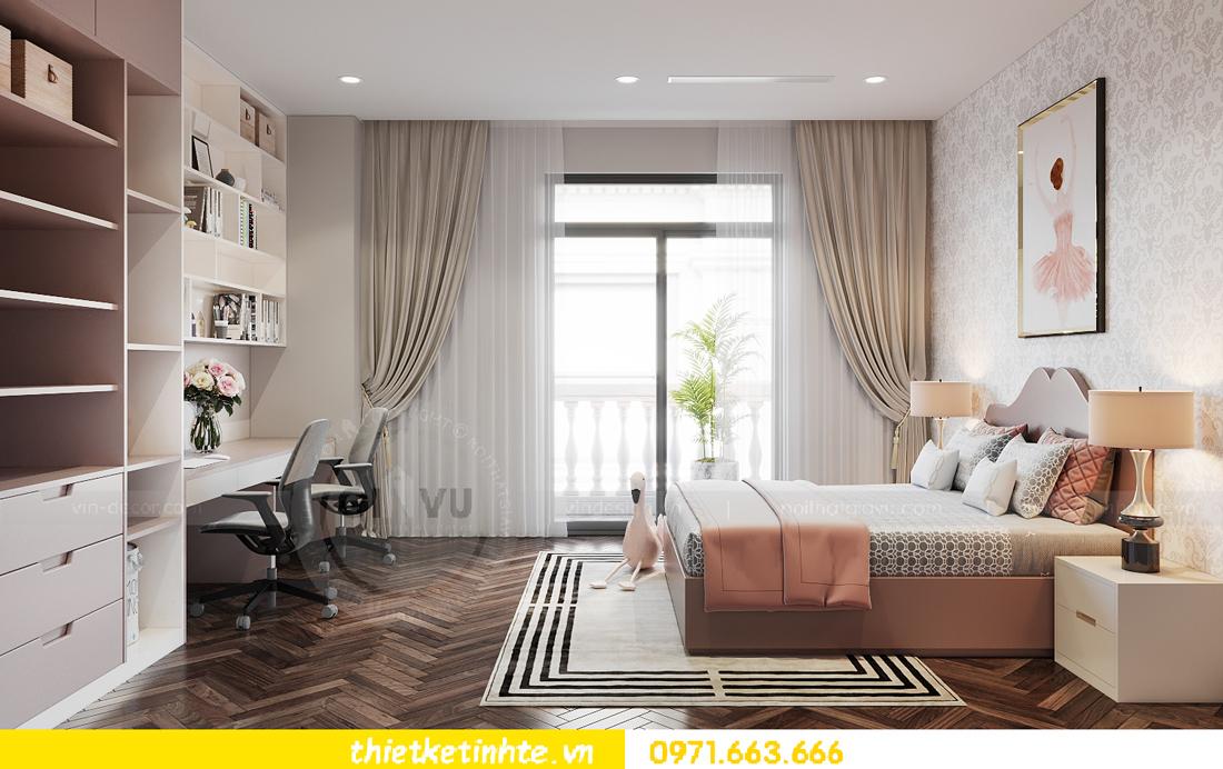 thiết kế nội thất biệt thự San Hô Vinhomes OCean Park 11