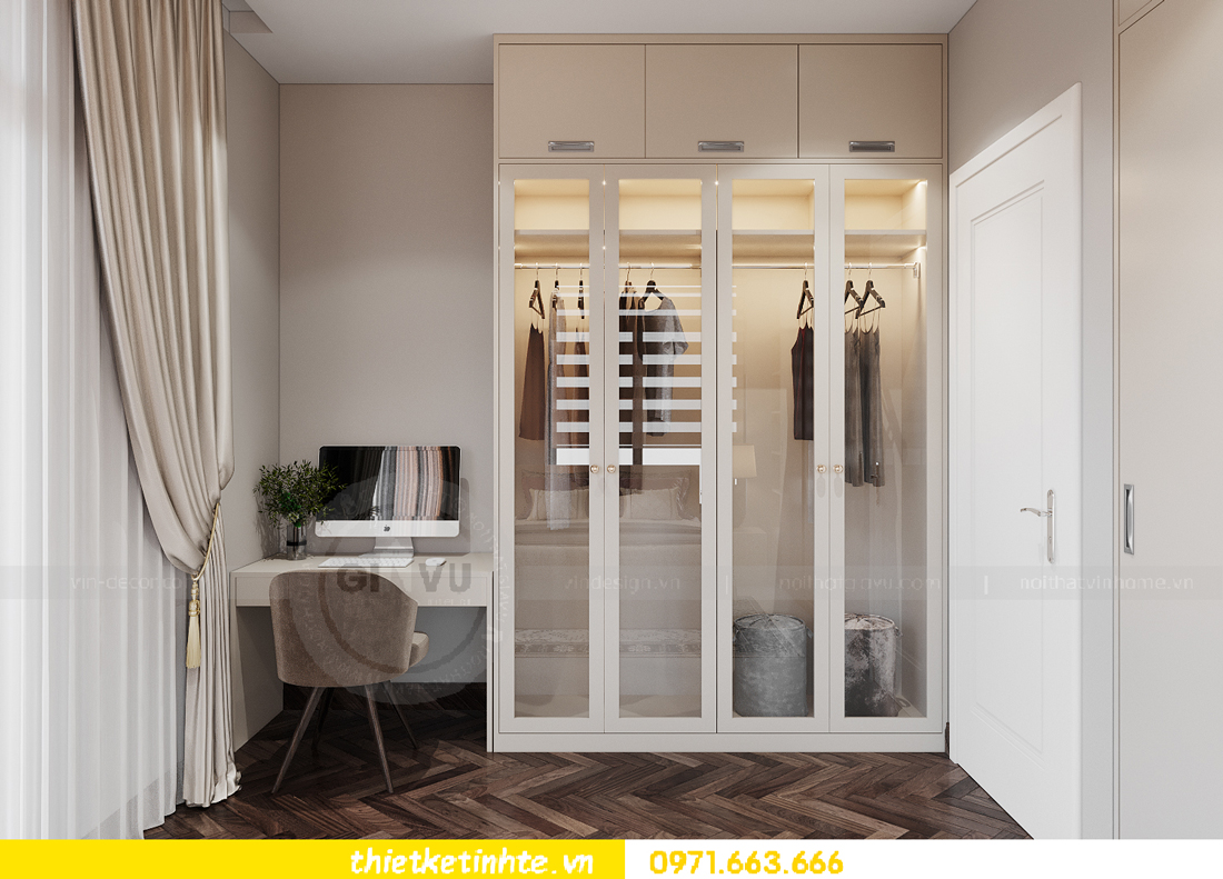 thiết kế nội thất biệt thự San Hô Vinhomes OCean Park 14