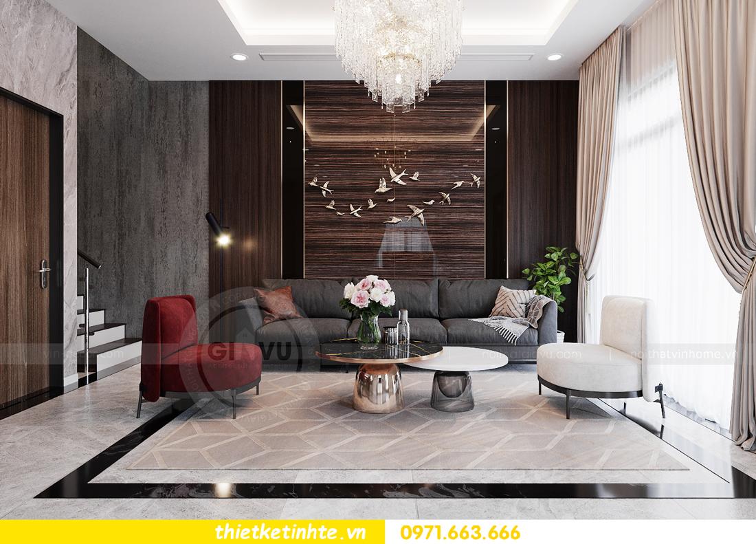 thiết kế nội thất biệt thự San Hô Vinhomes OCean Park 2