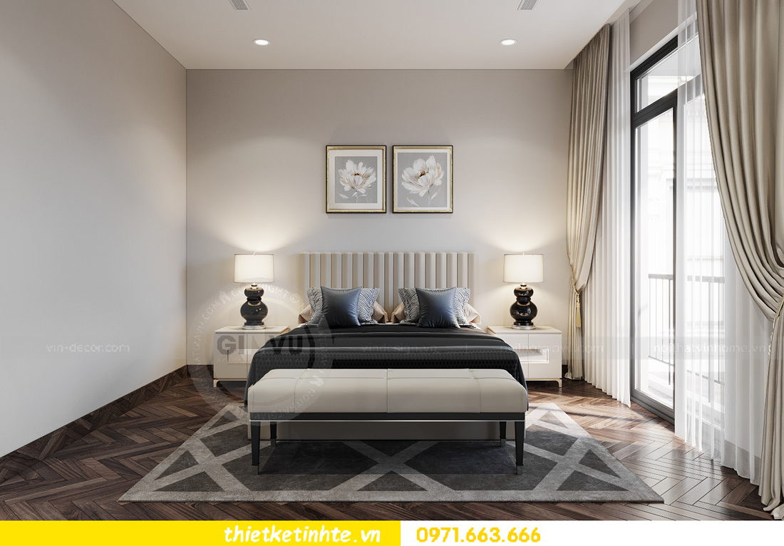 thiết kế nội thất biệt thự San Hô Vinhomes OCean Park 4