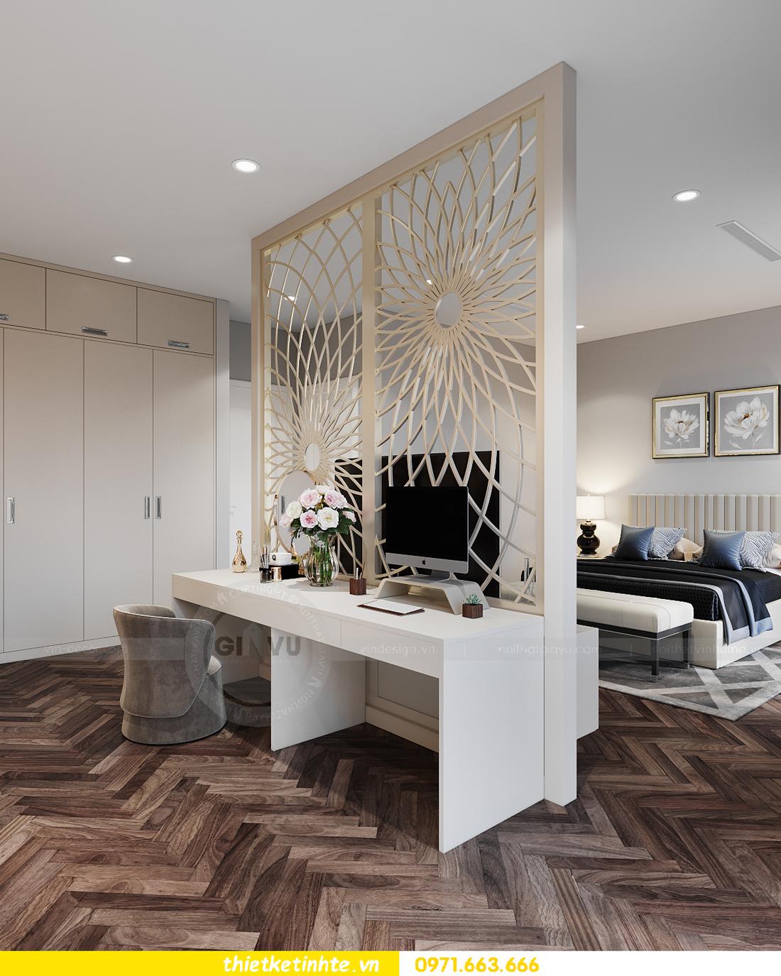 thiết kế nội thất biệt thự San Hô Vinhomes OCean Park 5