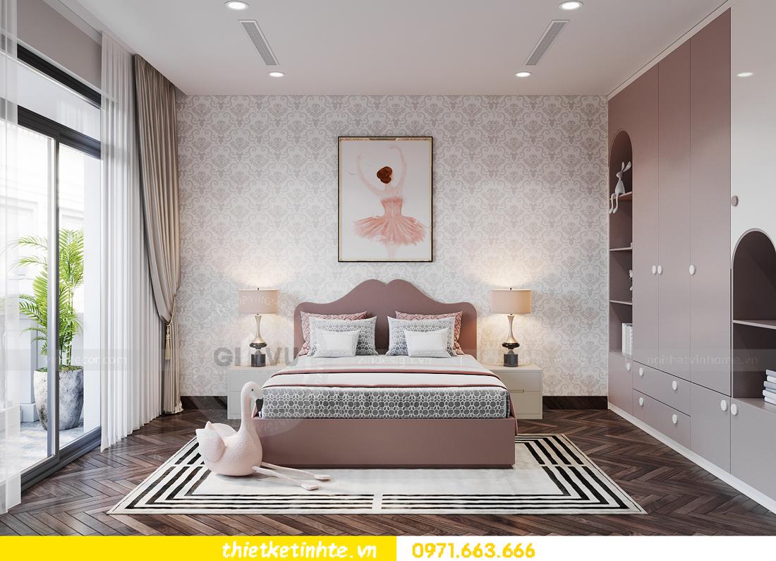 thiết kế nội thất biệt thự San Hô Vinhomes OCean Park 8