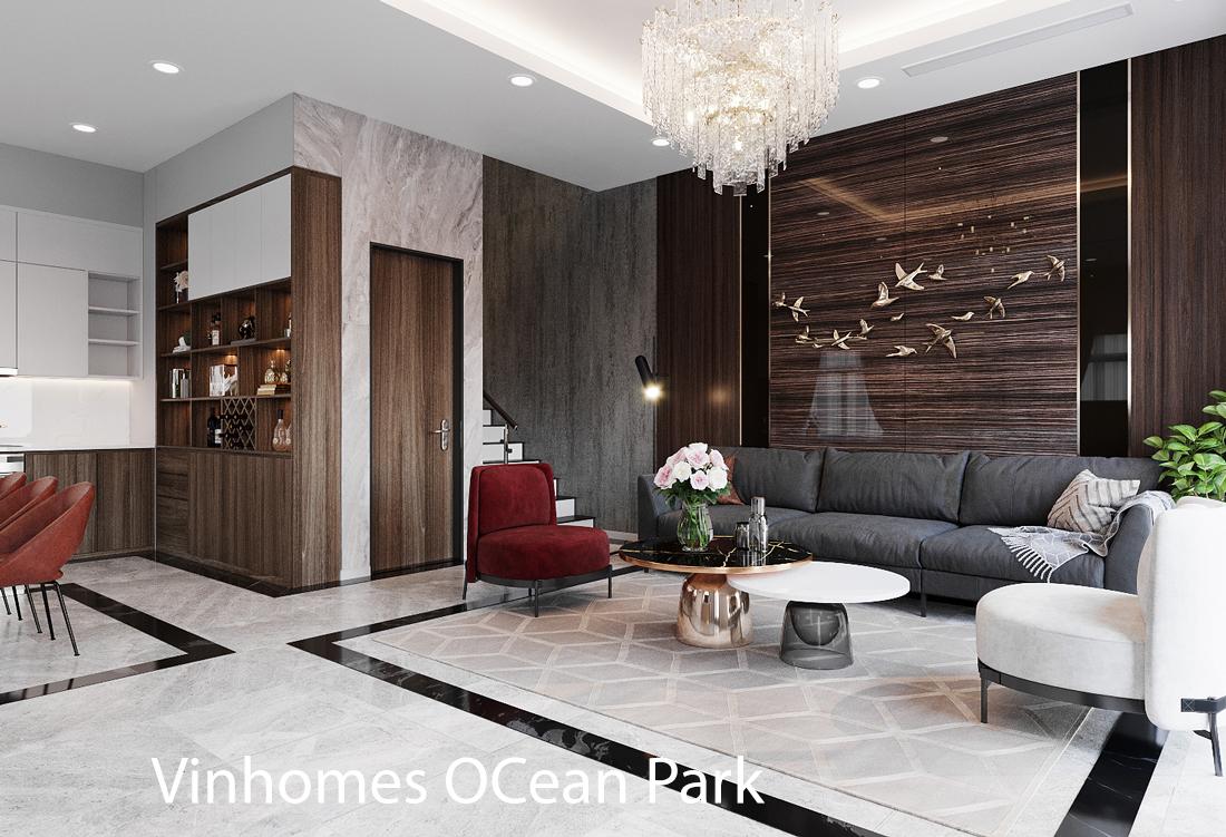 Thiết kế nội thất biệt thự San Hô Vinhomes OCean Park
