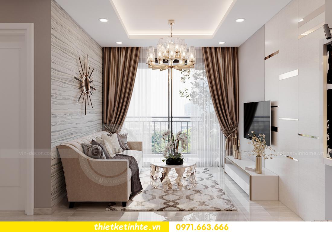 thiết kế nội thất tòa S302 chung cư Vinhomes Smart City 4