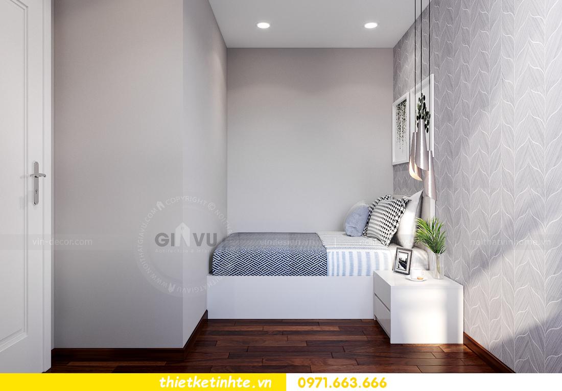 thiết kế nội thất tòa S302 chung cư Vinhomes Smart City 8