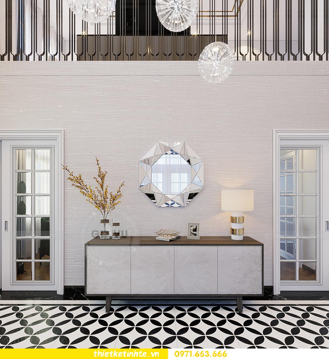 thiết kế thi công nội thất biệt thự Ngọc Trai Vinhomes Ocean Park 1