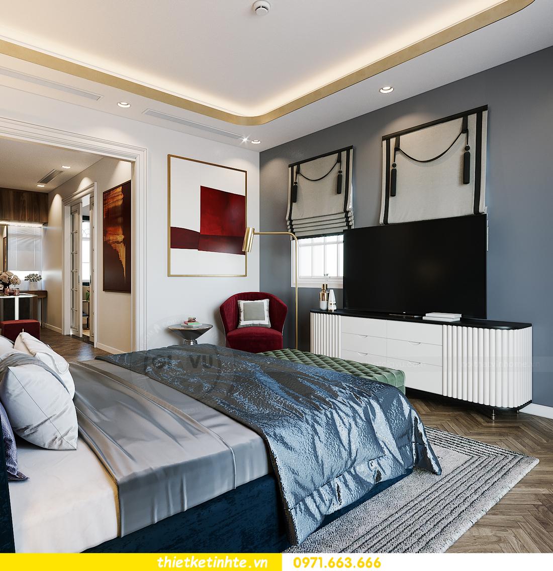thiết kế thi công nội thất biệt thự Ngọc Trai Vinhomes Ocean Park 10