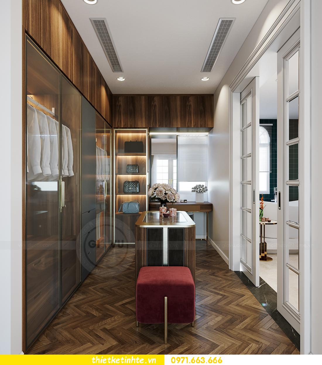 thiết kế thi công nội thất biệt thự Ngọc Trai Vinhomes Ocean Park 12