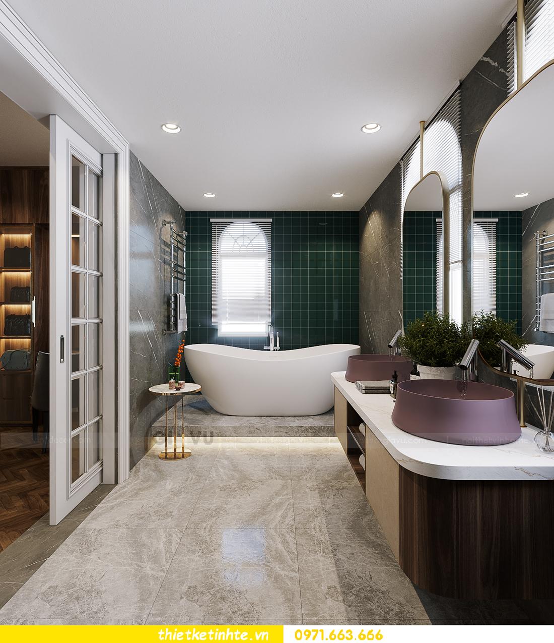 thiết kế thi công nội thất biệt thự Ngọc Trai Vinhomes Ocean Park 14