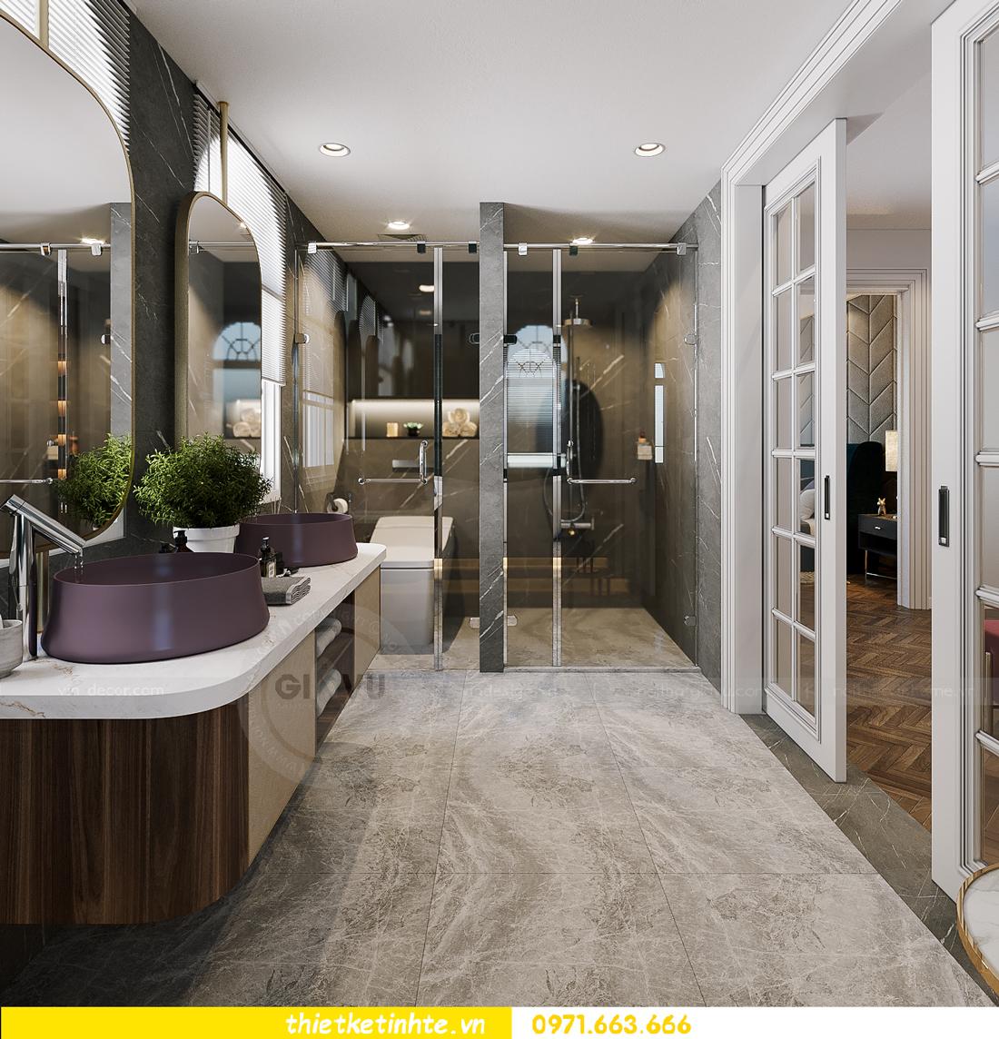 thiết kế thi công nội thất biệt thự Ngọc Trai Vinhomes Ocean Park 15
