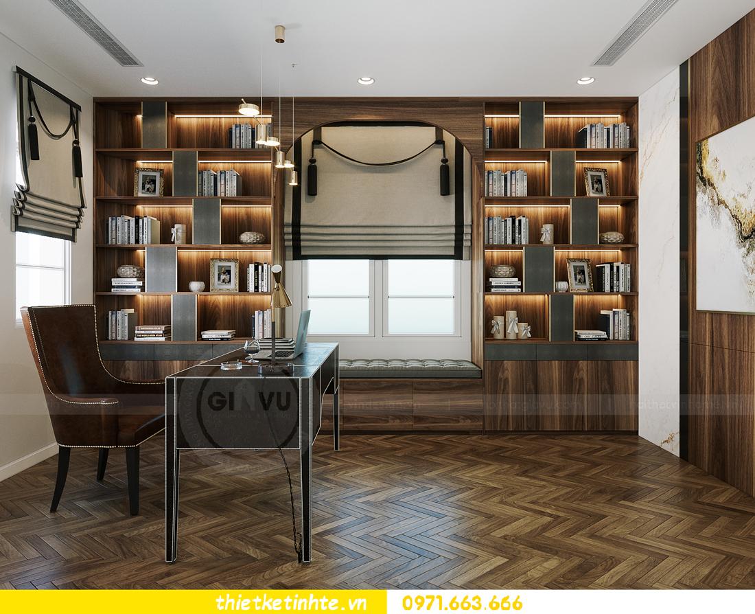 thiết kế thi công nội thất biệt thự Ngọc Trai Vinhomes Ocean Park 16
