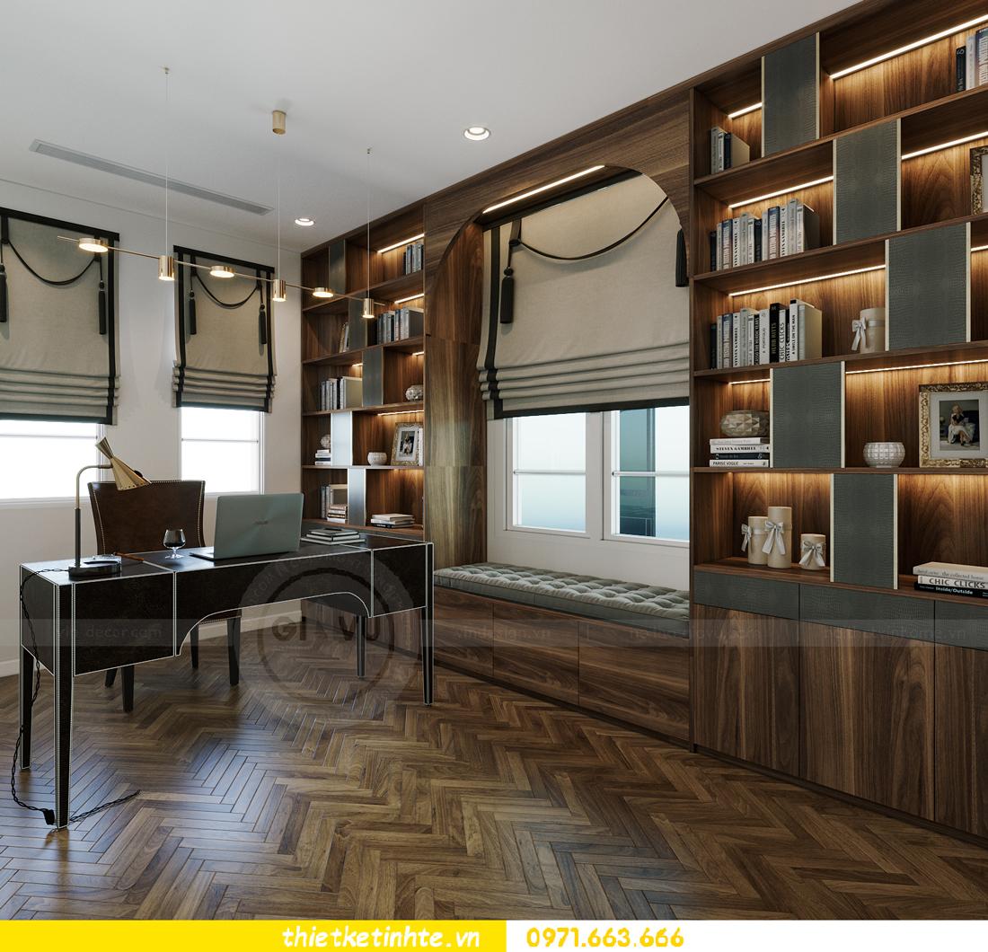thiết kế thi công nội thất biệt thự Ngọc Trai Vinhomes Ocean Park 17