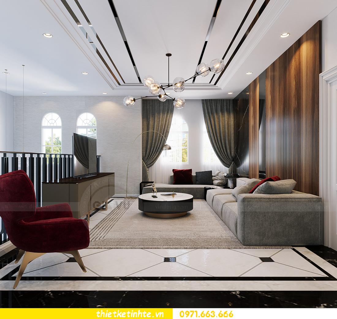 thiết kế thi công nội thất biệt thự Ngọc Trai Vinhomes Ocean Park 18