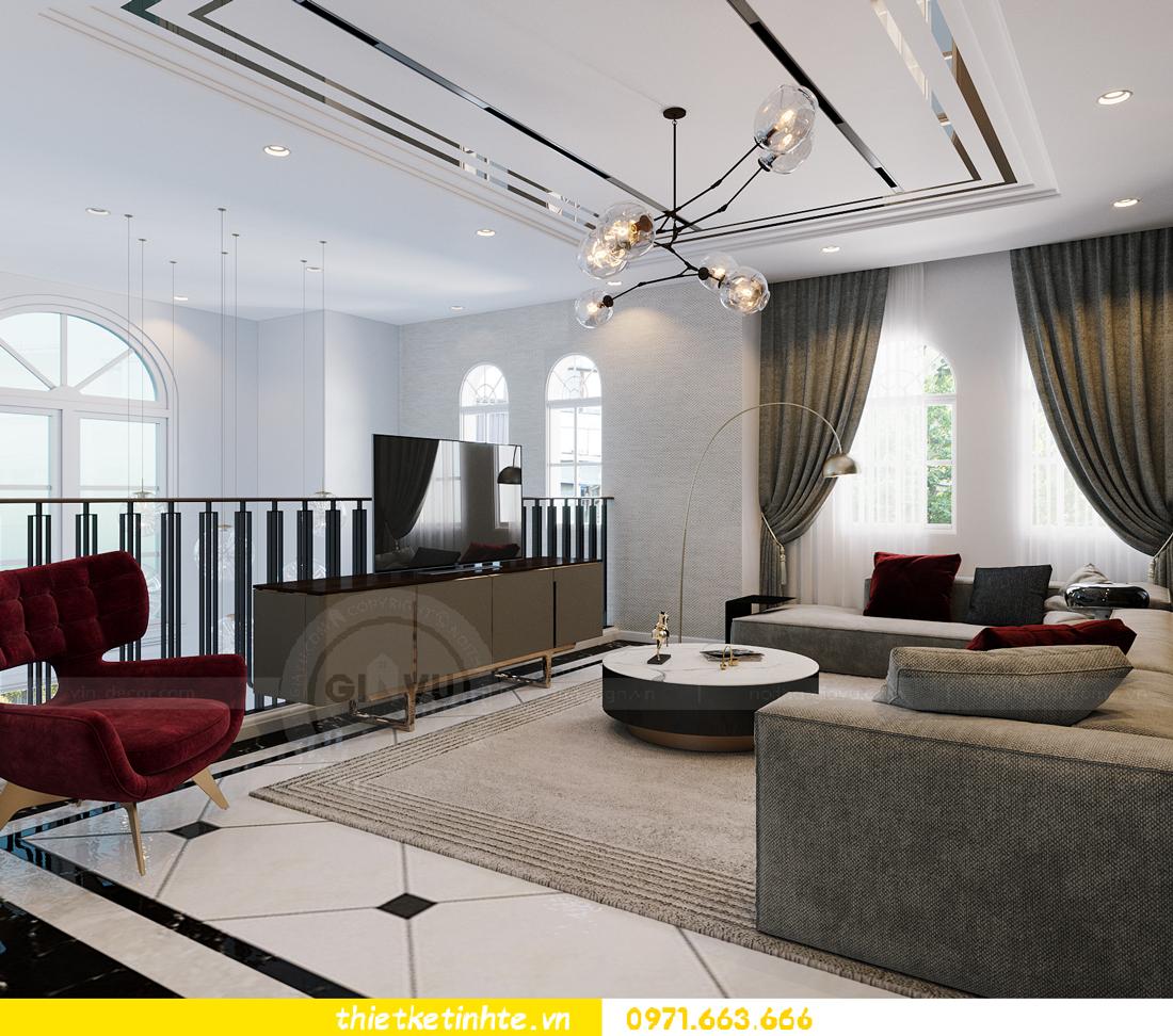 thiết kế thi công nội thất biệt thự Ngọc Trai Vinhomes Ocean Park 19