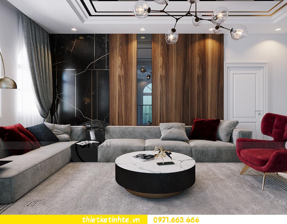 thiết kế thi công nội thất biệt thự Ngọc Trai Vinhomes Ocean Park 20