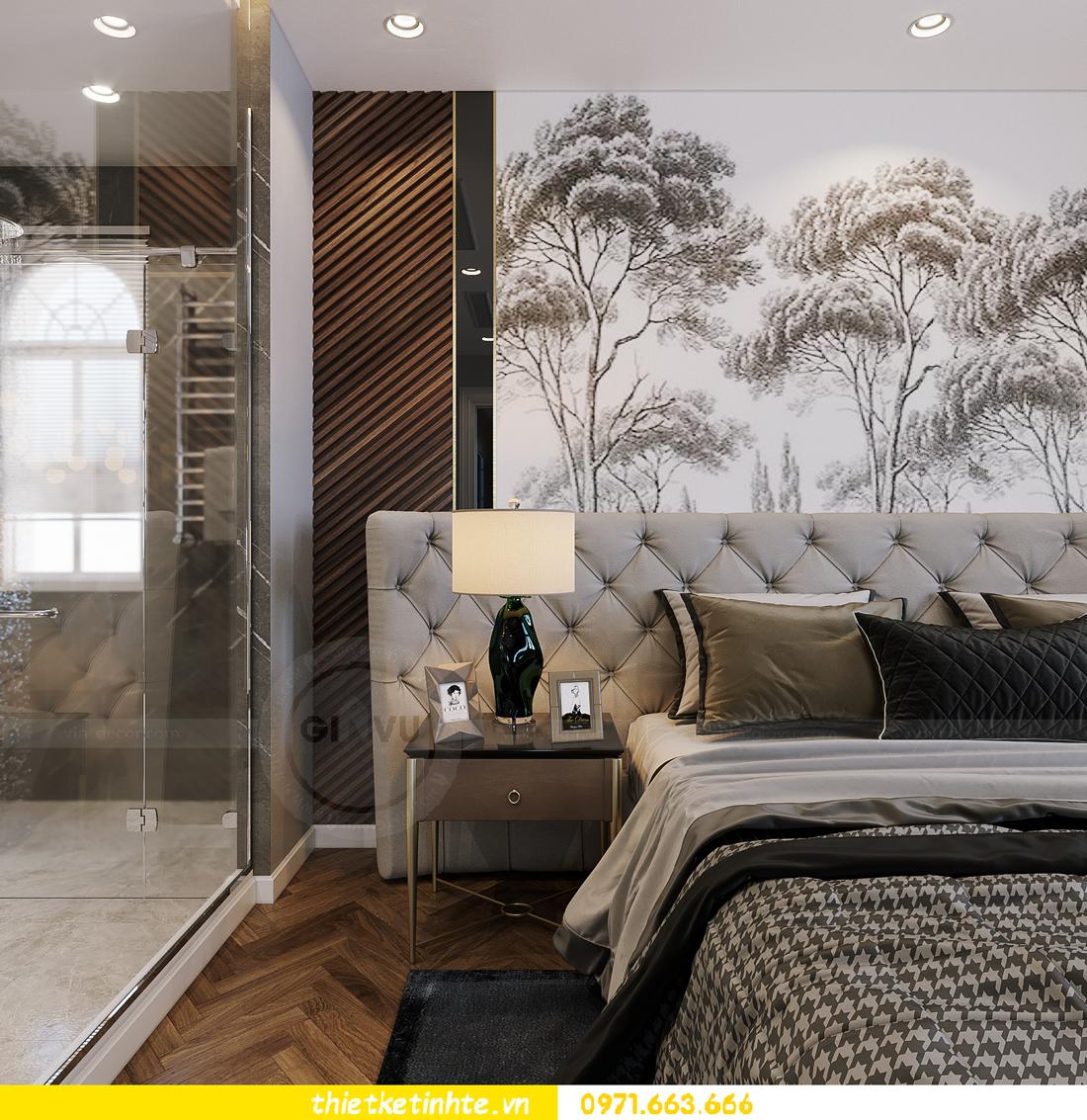 thiết kế thi công nội thất biệt thự Ngọc Trai Vinhomes Ocean Park 22