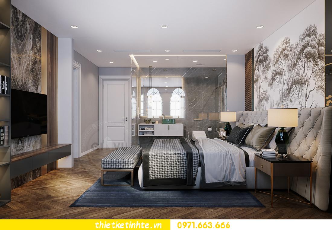 thiết kế thi công nội thất biệt thự Ngọc Trai Vinhomes Ocean Park 23