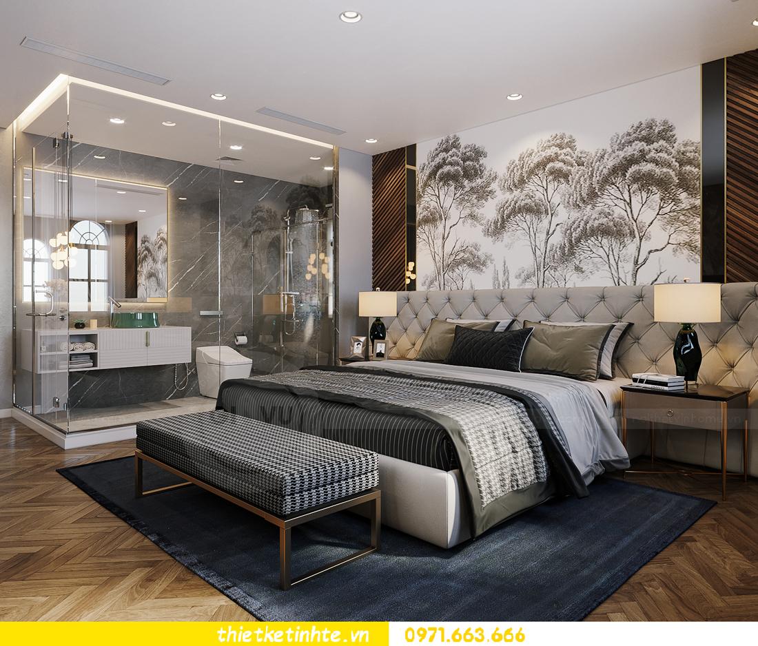 thiết kế thi công nội thất biệt thự Ngọc Trai Vinhomes Ocean Park 24