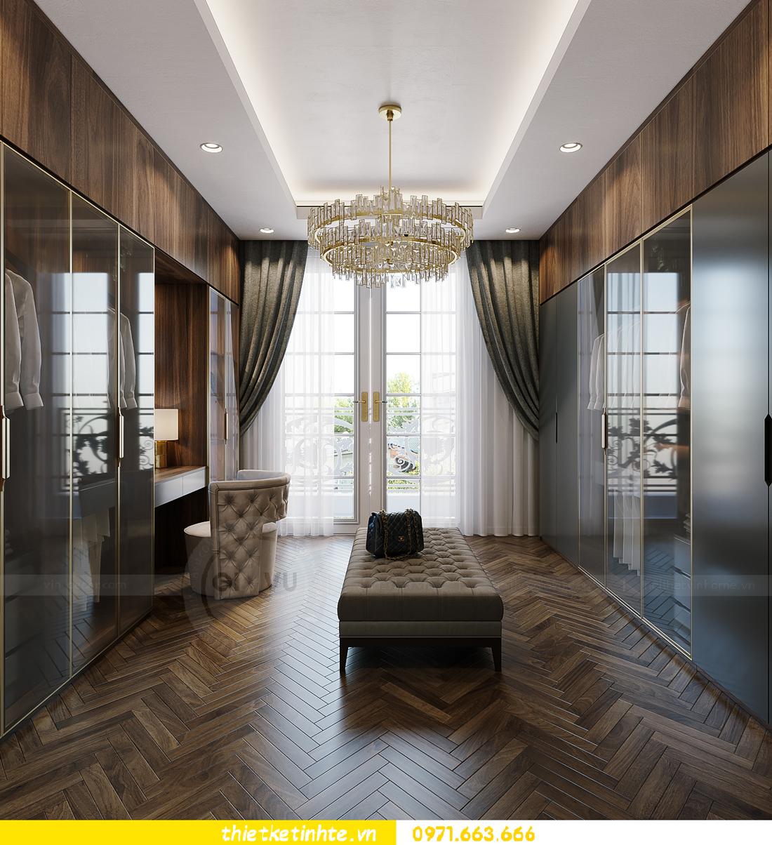 thiết kế thi công nội thất biệt thự Ngọc Trai Vinhomes Ocean Park 25