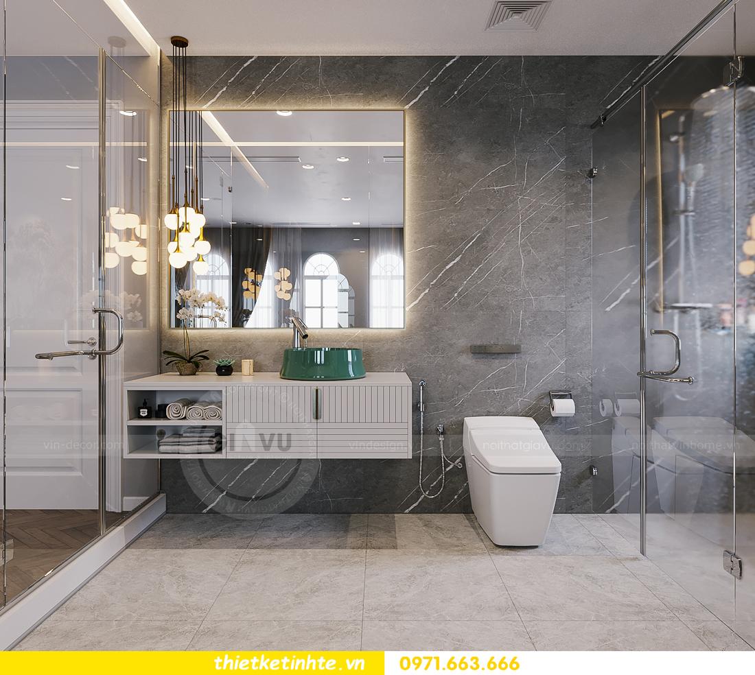 thiết kế thi công nội thất biệt thự Ngọc Trai Vinhomes Ocean Park 28