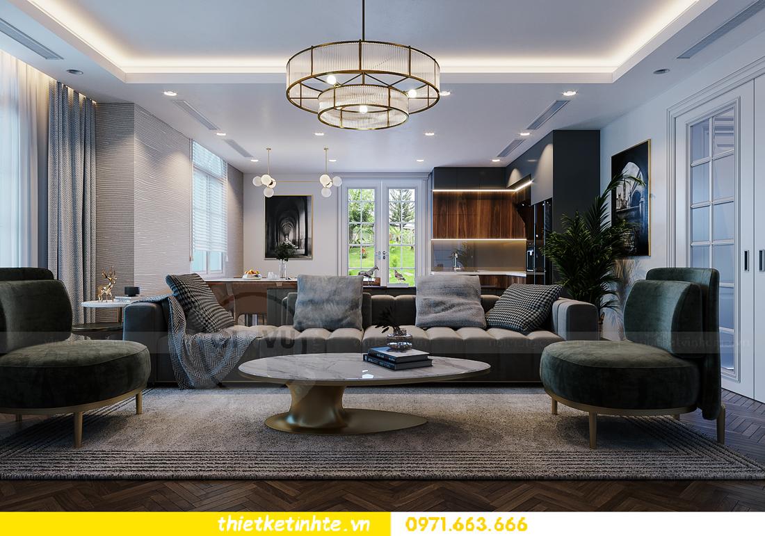 thiết kế thi công nội thất biệt thự Ngọc Trai Vinhomes Ocean Park 3
