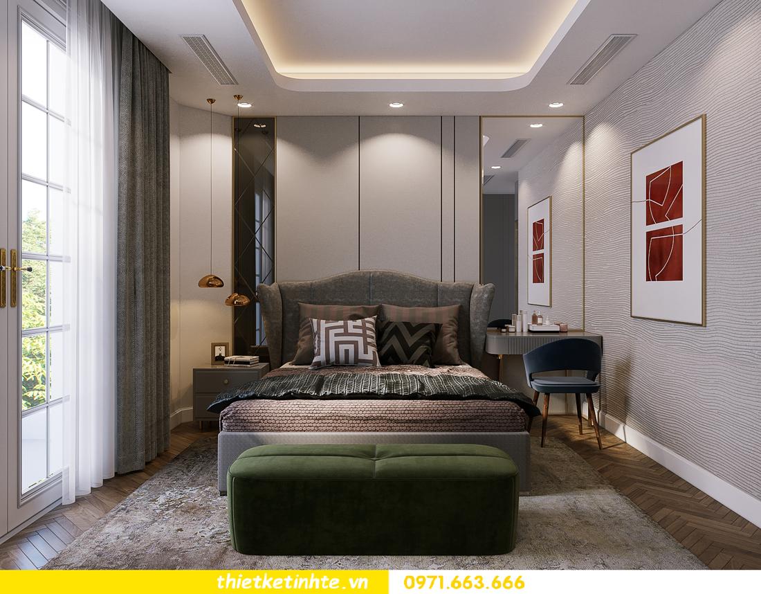 thiết kế thi công nội thất biệt thự Ngọc Trai Vinhomes Ocean Park 32