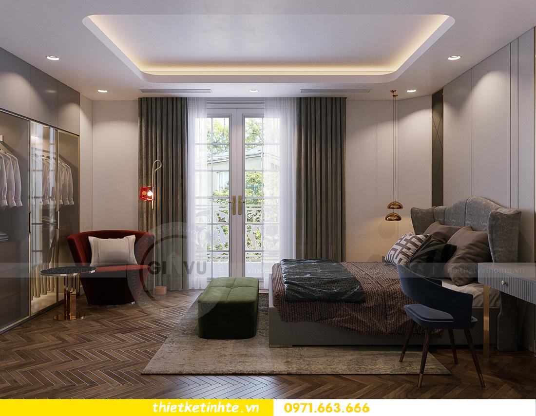 thiết kế thi công nội thất biệt thự Ngọc Trai Vinhomes Ocean Park 34