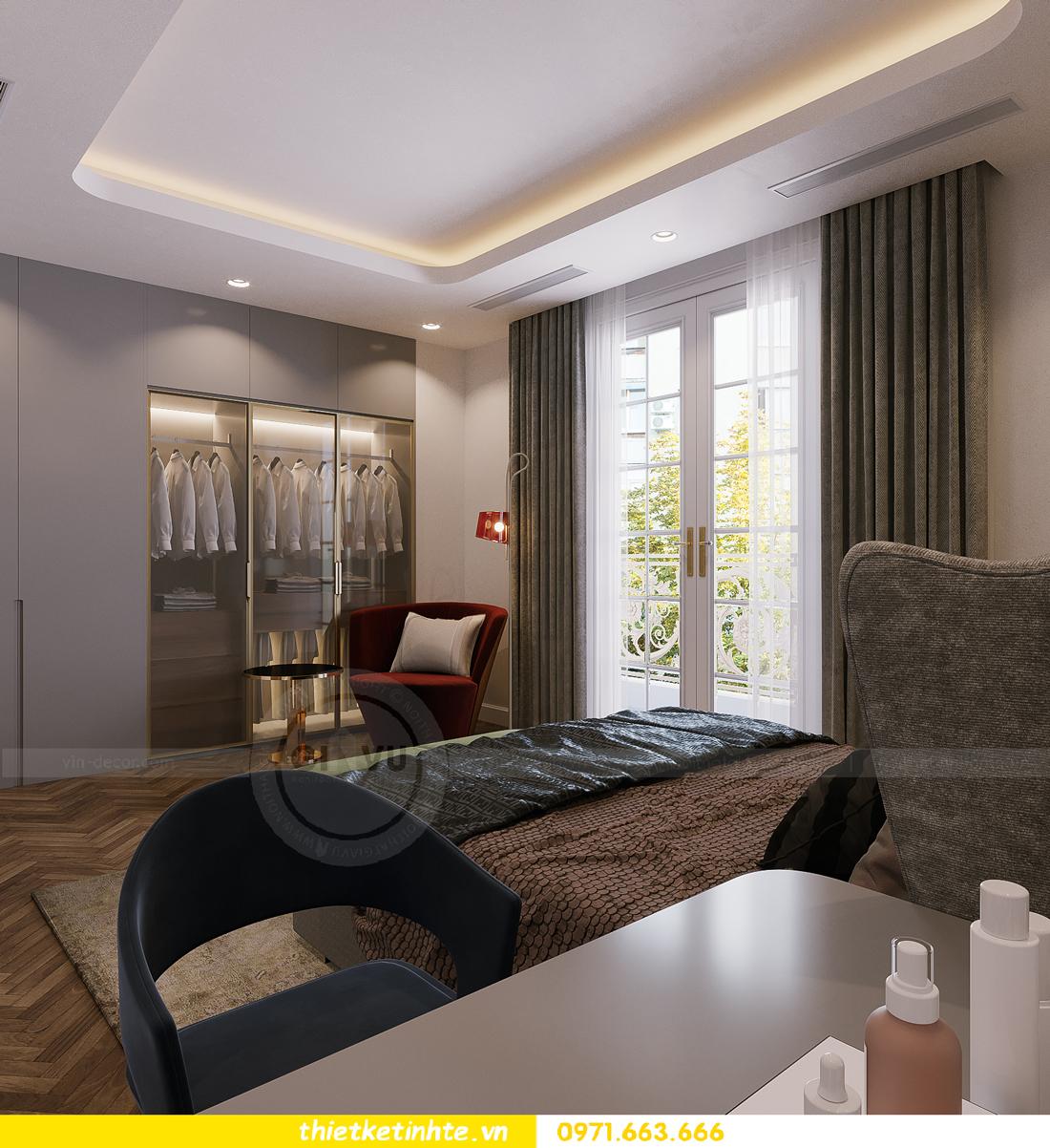 thiết kế thi công nội thất biệt thự Ngọc Trai Vinhomes Ocean Park 35