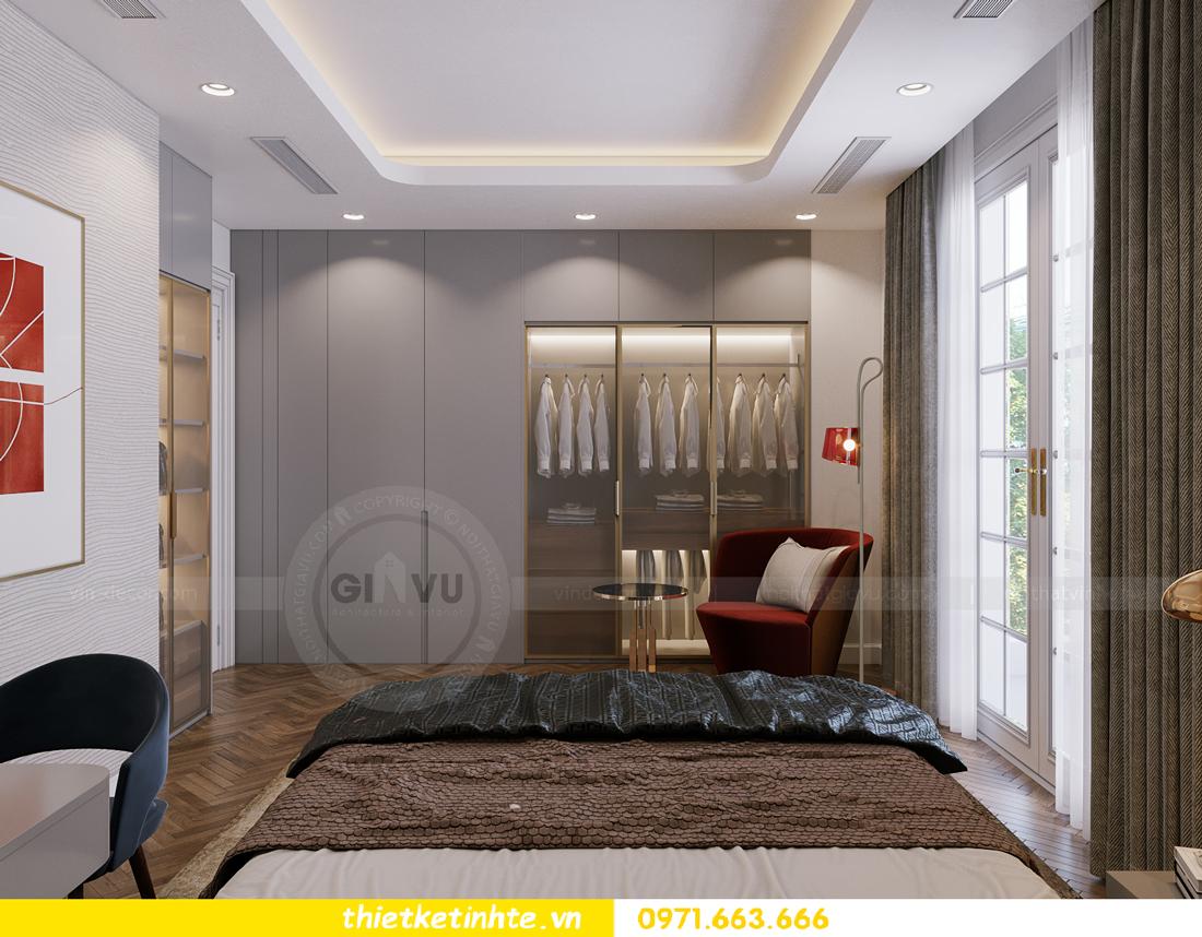 thiết kế thi công nội thất biệt thự Ngọc Trai Vinhomes Ocean Park 36