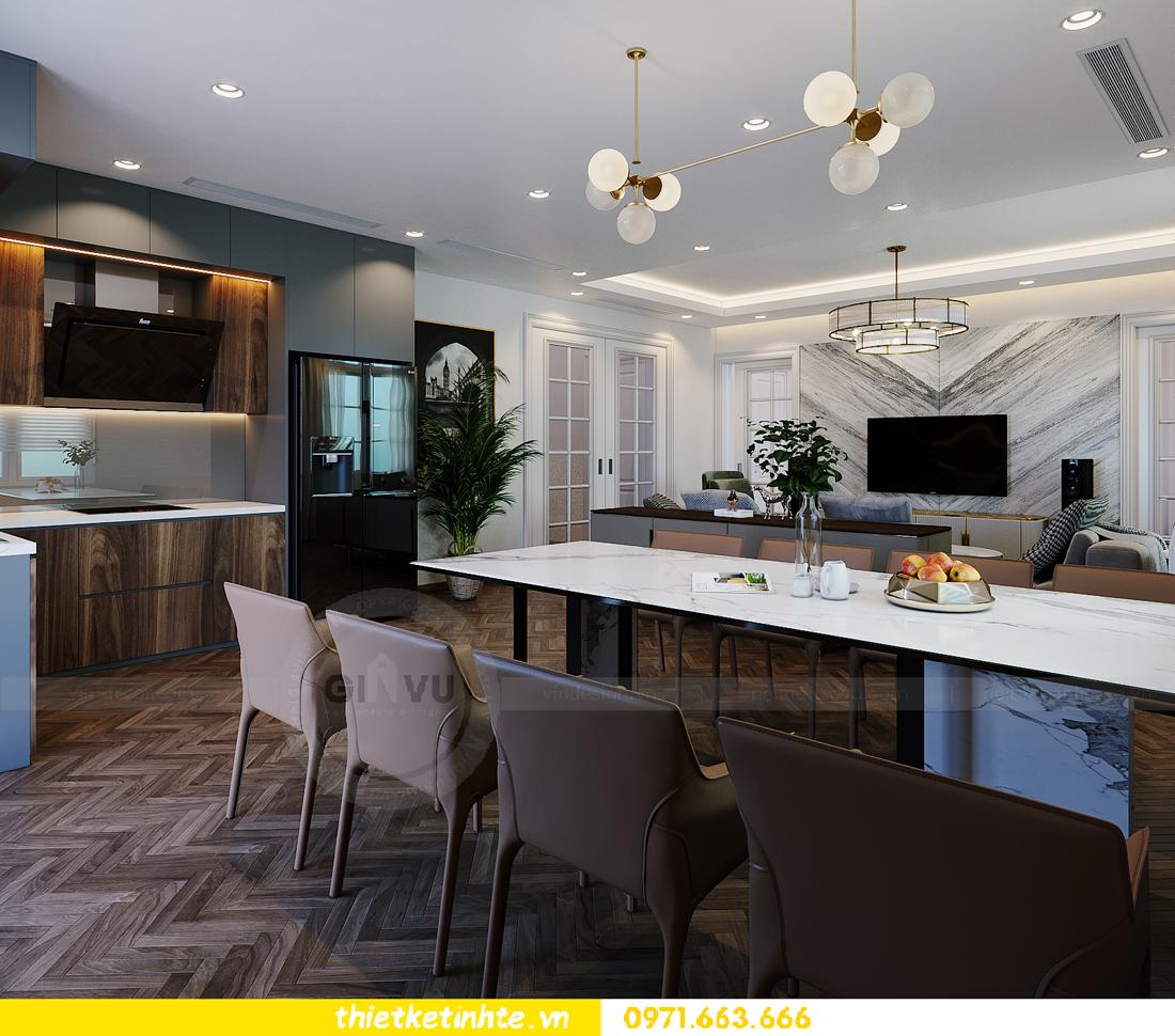 thiết kế thi công nội thất biệt thự Ngọc Trai Vinhomes Ocean Park 4