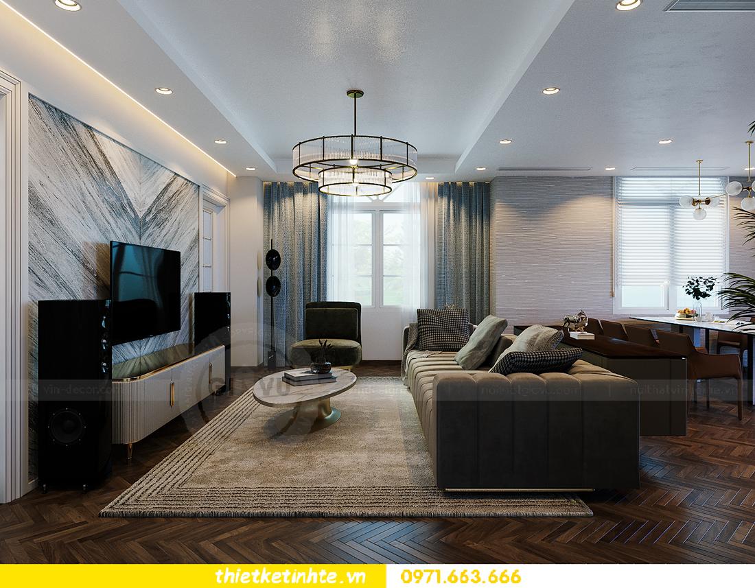 thiết kế thi công nội thất biệt thự Ngọc Trai Vinhomes Ocean Park 5