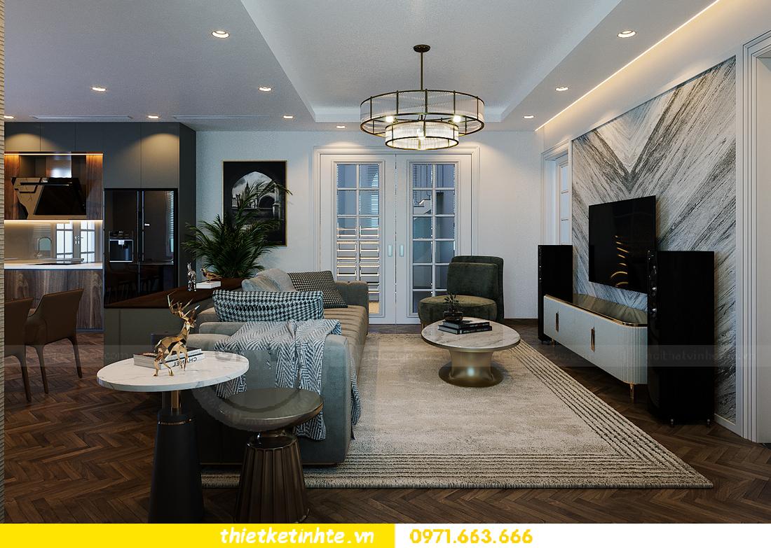 thiết kế thi công nội thất biệt thự Ngọc Trai Vinhomes Ocean Park 6