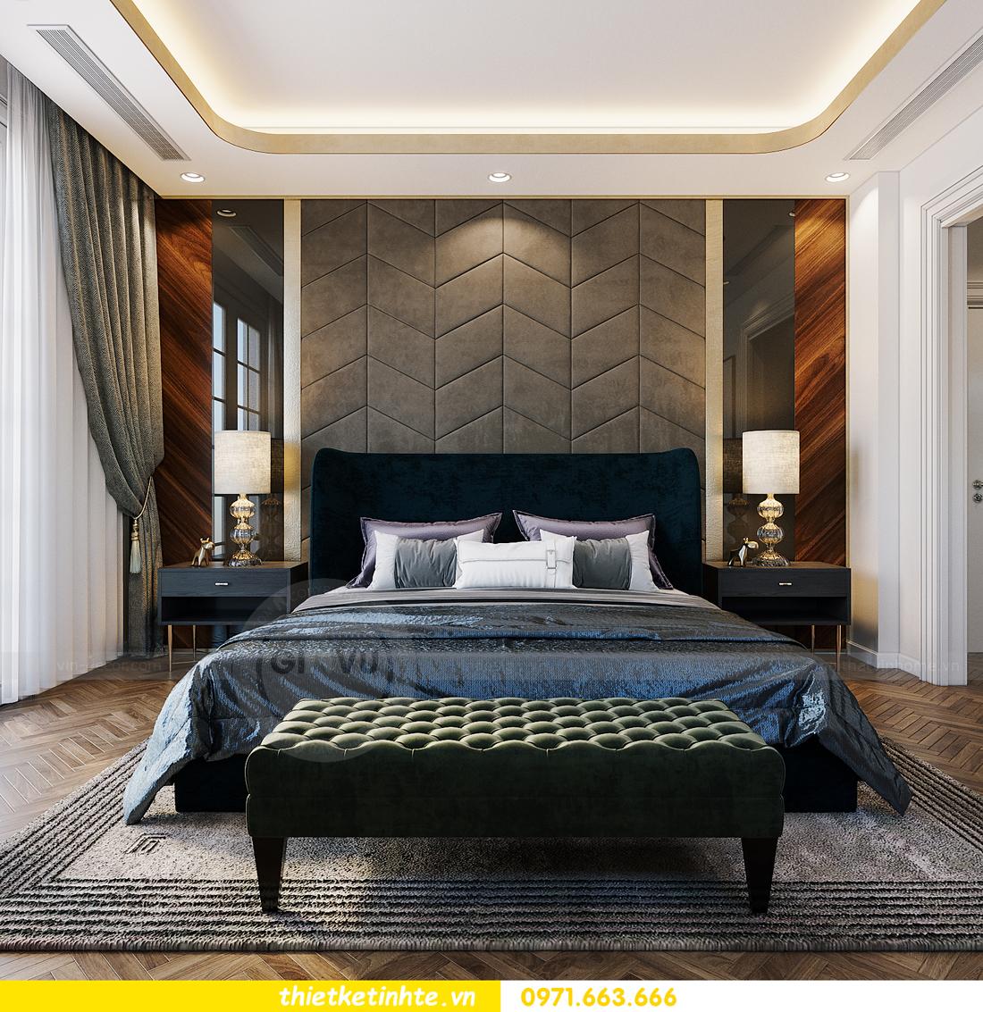 thiết kế thi công nội thất biệt thự Ngọc Trai Vinhomes Ocean Park 7