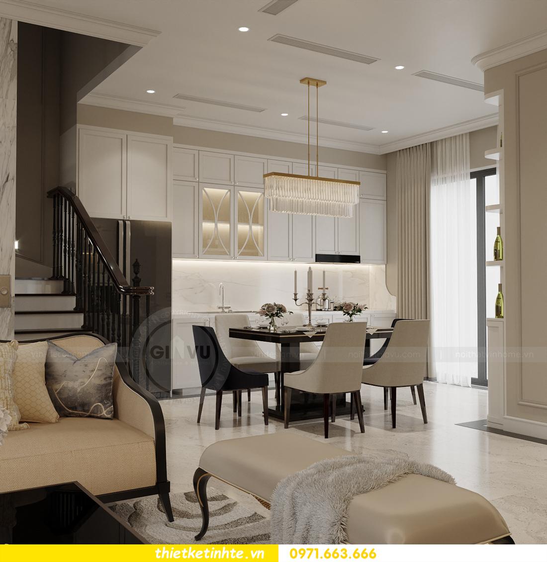 Thiết kế nội thất biệt thự Sao Biển 02-29 Ocean Park căn 90m2 1