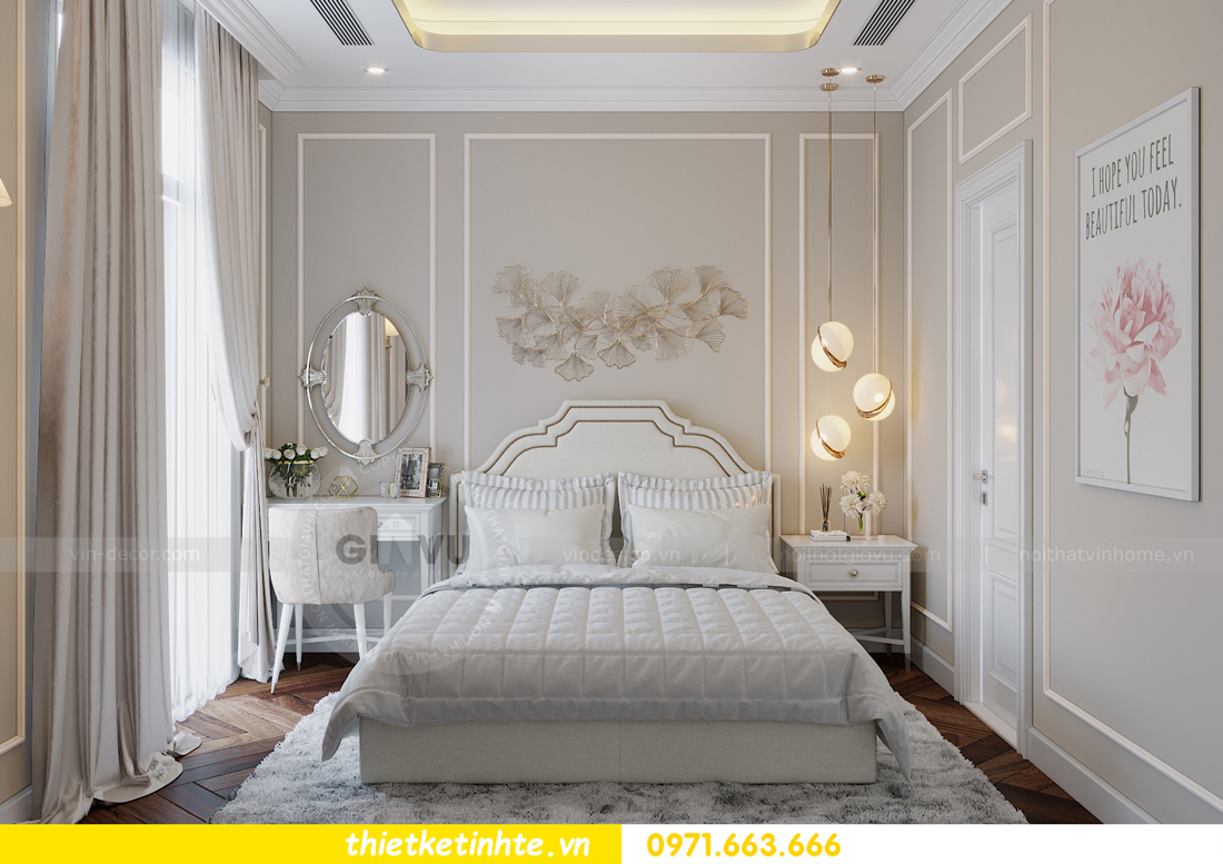 Thiết kế nội thất biệt thự Sao Biển 02-29 Ocean Park căn 90m2 15