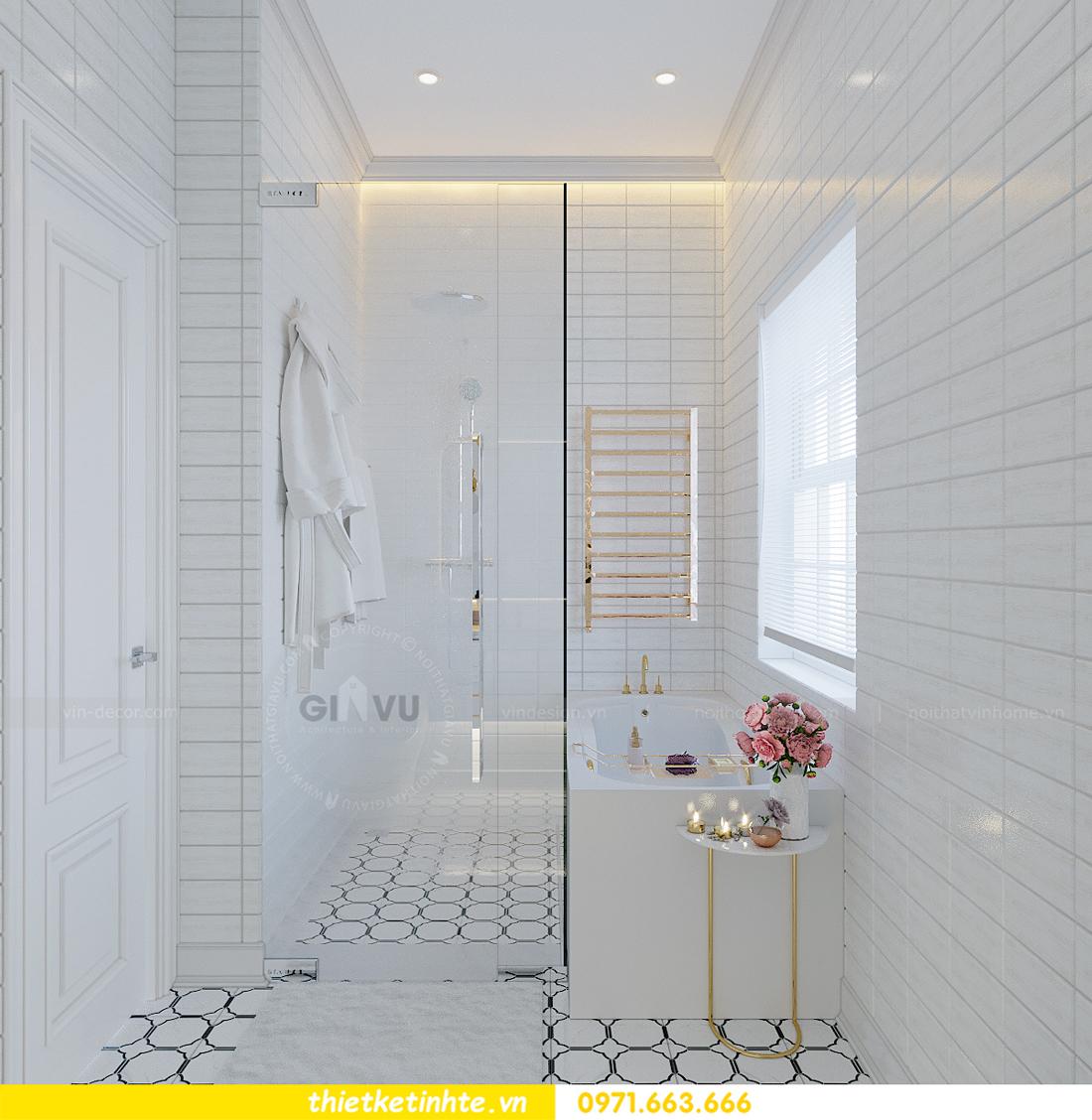 Thiết kế nội thất biệt thự Sao Biển 02-29 Ocean Park căn 90m2 22