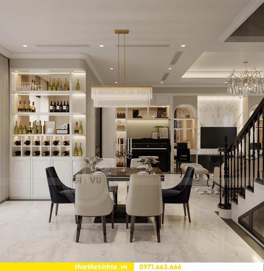 Thiết kế nội thất biệt thự Sao Biển 02-29 Ocean Park căn 90m2 4