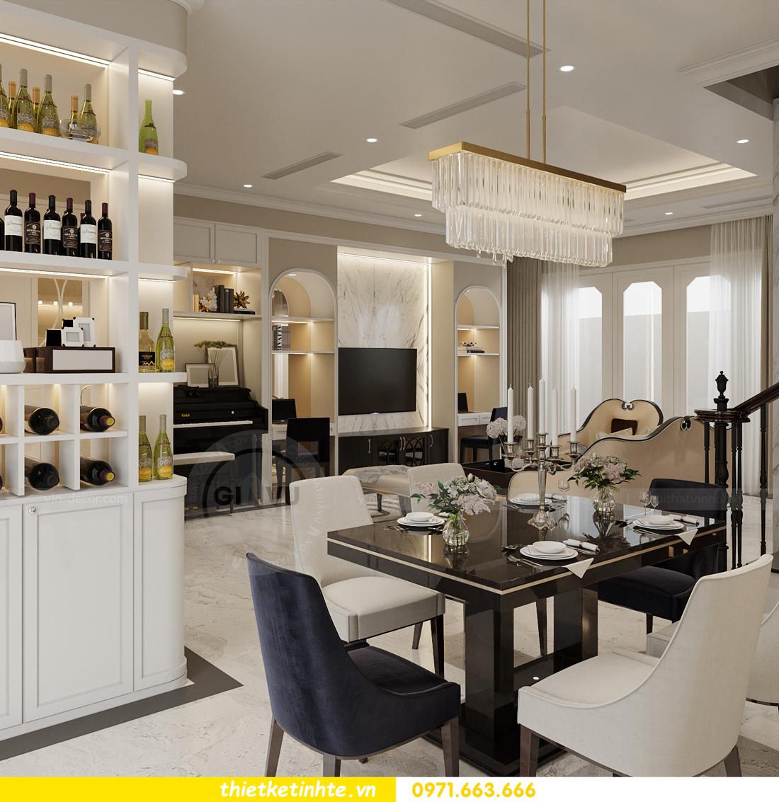 Thiết kế nội thất biệt thự Sao Biển 02-29 Ocean Park căn 90m2 5
